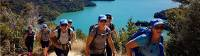 Trekking above Marlborough Sounds |  <i>Ross Daubney</i>