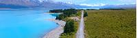 Cycling along the striking Lake Pukaki |  <i>Daniel Thour</i>