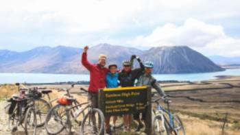Celebrating at the top of the Tarnbrae high point! | Rebecca Ryan