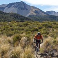 Warm up ride in the Craigieburn Ranges of Canterbury   Mike Smith