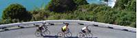 Cyclists working their way up the West Coast of the South Island |  <i>Tim de Jong</i>