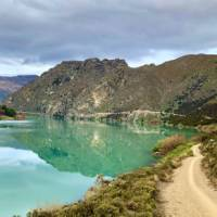 Stunning blue waters on the Lake Dunstan Trail   Lisa Jones