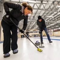 It's not every day you get to go curling on a world class curling rink! | Lachlan Gardiner