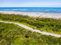 The trail takes you along stunning coastline into Greymouth |  <i>Lachlan Gardiner</i>