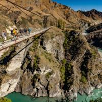 Views over the Shotover River from the cable bridge | Colin Monteath