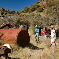 Forgotten gold mining machinery from the 1800s gold rush. | Colin Monteath