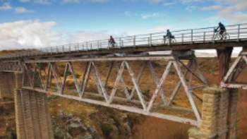 Cycling across viaducts on our Otago Rail Trail adventure is a real highlight | Colin Monteath