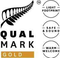 Qualmark Gold Award Logo Stacked