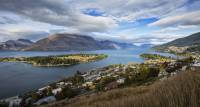 Panorama of Queenstown, the 'adventure capital' of New Zealand |  <i>Peter Walton</i>