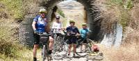 Riders on the Otago Rail Trail Family Adventure |  <i>Gesine Cheung</i>