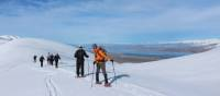 Snowshoeing on Snake Ridge | Stephen Tulley