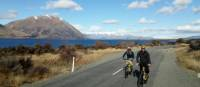 Stunning views towards Ben Ohau on the Alps to Ocean Cycle Trail | Stephen Tulley