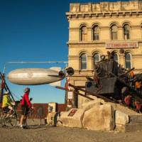 The Alps 2 Ocean finishes in Oamaru, home to some quirky attractions