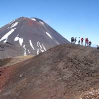Tongariro Crossing, North Island NZ, one of the best one day walks in the world   Judy Quintal