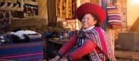 Quechua woman backstrap weaving in Chinchero | Mark Tipple