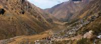 Views through the valley on the Salcantay Trek, arguably the best short trek alternative to the classic Inca Trail | Mark Tipple